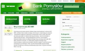 Bank pomysłów BZWBK